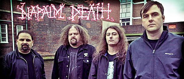 Napalm Death2014 - Interview - Barney Greenway of Napalm Death