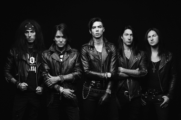 PHOTO   BVB Publicity 1  Jonathan Weiner  - Black Veil Brides - Black Veil Brides IV (Album Review)