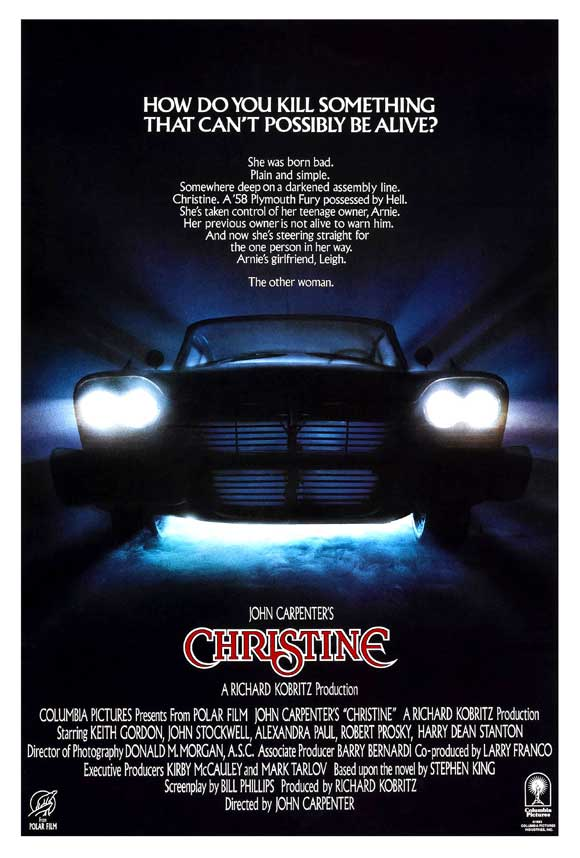 christine movie poster 1983 1020489472 - This Week in Horror Movie History - Christine (1983)