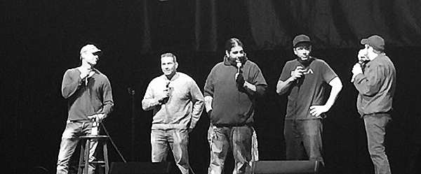 dave slide - Comedy Underground with Dave Attell kills at The Paramount Huntington, NY 11-21-14