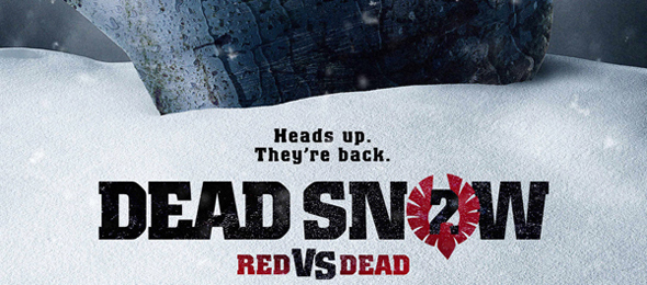 dead snow 2 red vs dead poster edited 3 - Dead Snow 2: Red vs Dead (Movie Review)