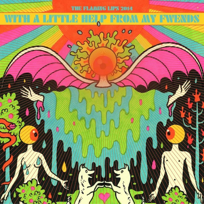 flaming lips album - The Flaming Lips - With a Little Help From My Fwends (Album Review)
