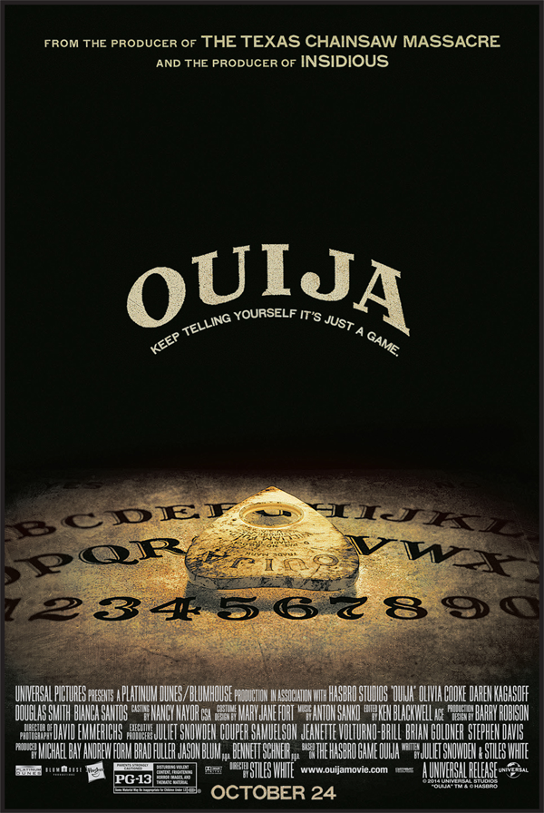 ouija movie poster - Interview - Lin Shaye