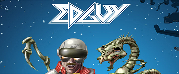 Edguy Space Police Defenders Of The Crown Artwork 01 - Edguy - Space Police - Defenders of The Crown (Album Review)