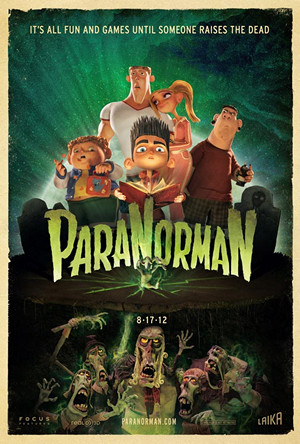ParaNorman poster - Favorite Horror Movies Revealed: James Durbin