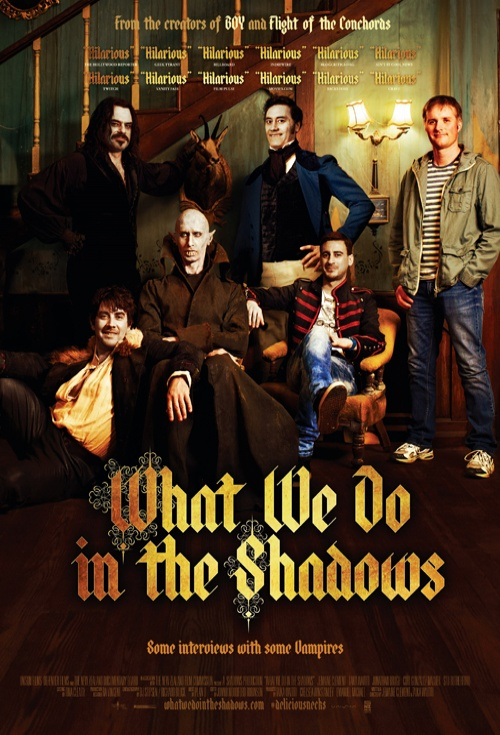 What We Do in the Shadows poster - What We Do in the Shadows (Movie Review)