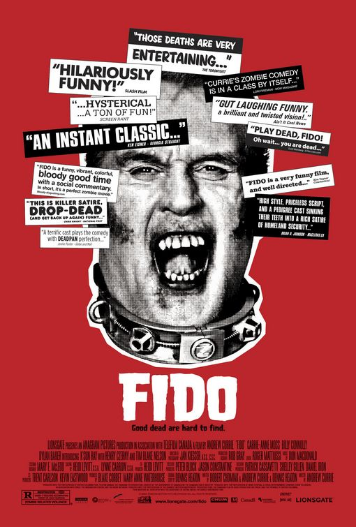 fido theater poster version3 - Favorite Horror Movies Revealed: James Durbin