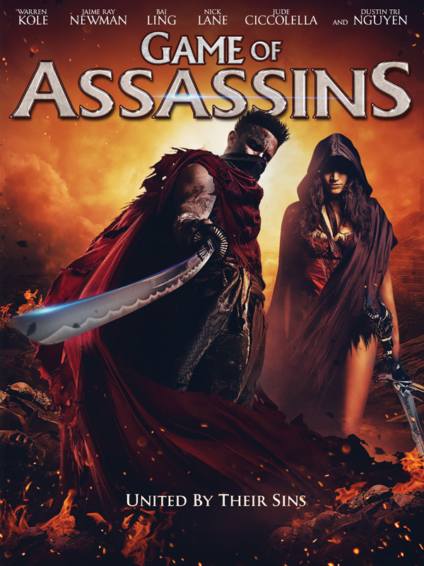 game of assasins poster - Game of Assassins (Movie Review)