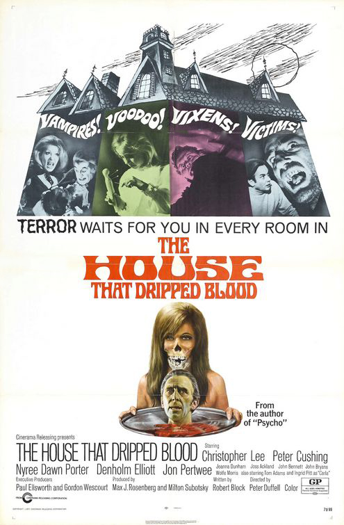 house that dripped blood - Favorite Horror Movies Revealed: KT Paige of Romantic Rebel