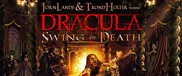 jorn lande edited 1 - Jorn Lande & Trond Holter present Dracula: Swing of Death (Album Review)