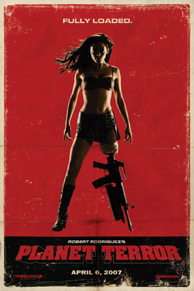 planet terror poster 011 - Favorite Horror Movies Revealed: KT Paige of Romantic Rebel