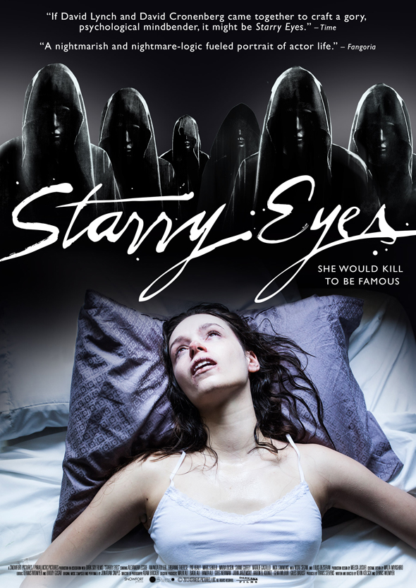 starry eyes official theatrical poster - Starry Eyes (Movie Review)