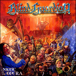 A Night at the Opera Blind Guardian album   cover art - Interview - Hansi Kürsch of Blind Guardian