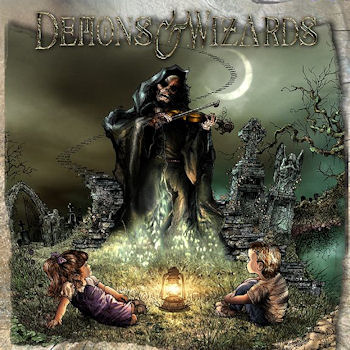 Demons  Wizards   Demons  Wizards   Front Cover - Interview - Hansi Kürsch of Blind Guardian