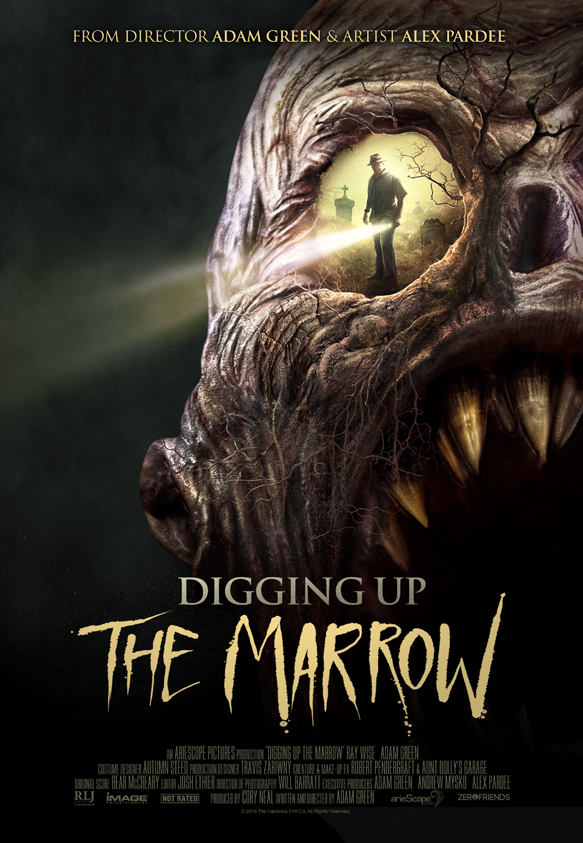 digging up marrow poster edited 1 - Digging Up the Marrow (Movie Review)