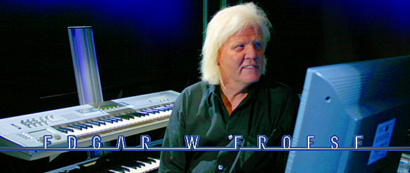 edgar slide - Remembering Tangerine Dream founder Edgar Froese - a man, a unique vision