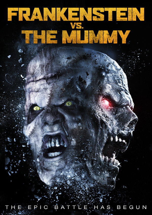 frankenstein vs mummy cover - Frankenstein vs. The Mummy (Movie Review)