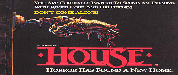 house big slide - This Week in Horror Movie History - House (1986)