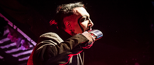 marilyn manson slide - Marilyn Manson brings Dope Show to Tempe, AZ 2-13-15