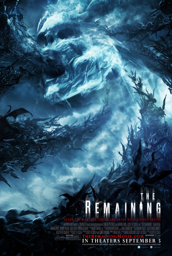 the remaining poster - The Remaining (Movie Review)