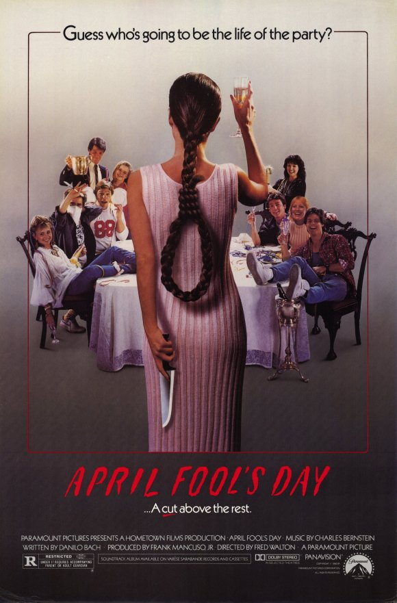 1986 april fools day poster1 - This Week in Horror Movie History - April Fool's Day (1986)