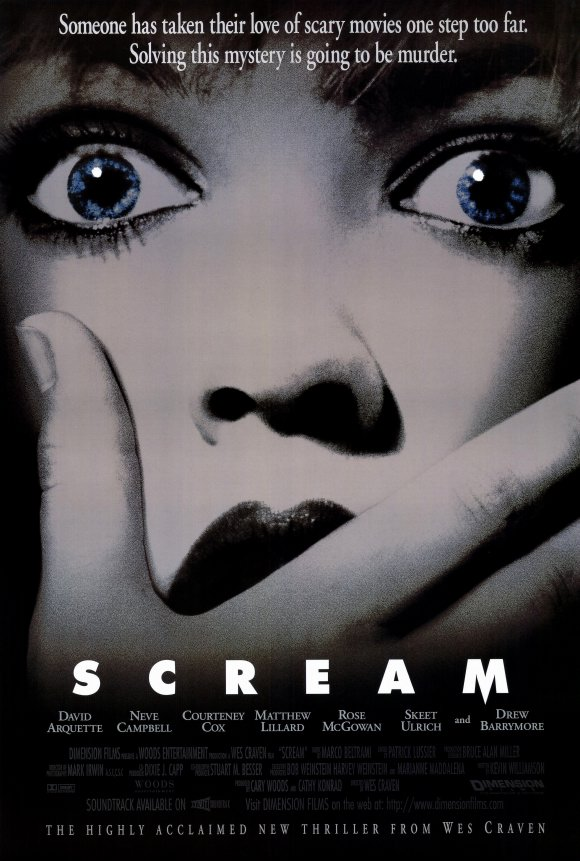 Scream Movie Poster Portable - Wes Craven - Dreaming Up Nightmares That Will Last Forever