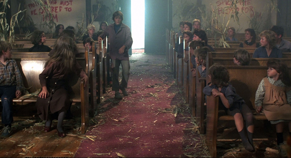 children of the corn church blood stalks - This Week in Horror Movie History - Children of the Corn (1984)