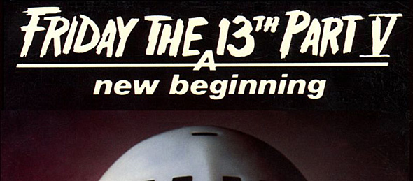friday the 13th new poster - Friday the 13th: A New Beginning celebrates 30th anniversary
