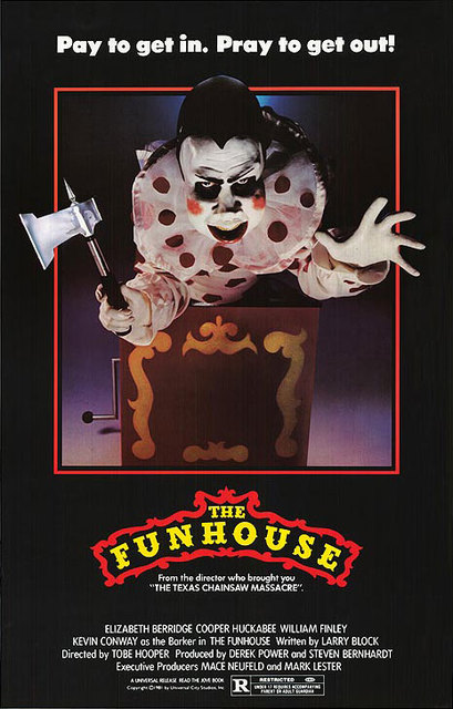 funhouse 1981 poster.preview - This Week in Horror Movie History - The Funhouse (1981)