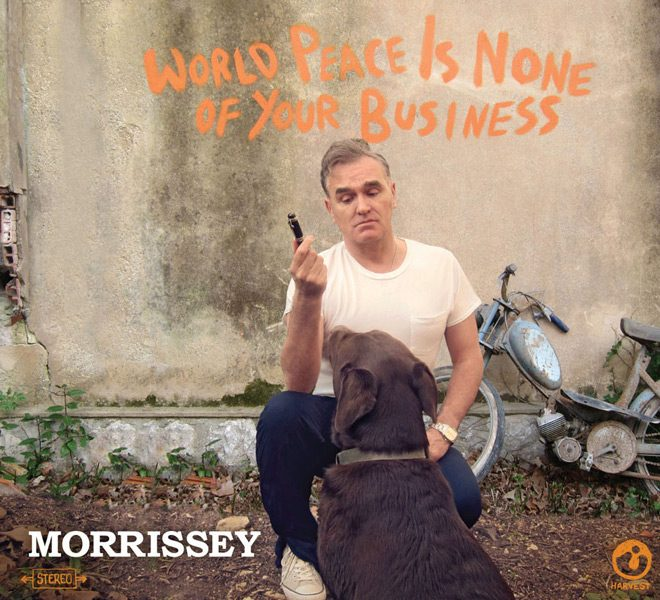 mor 2015 1 - Morrissey - World Peace Is None of Your Business (Album Review)