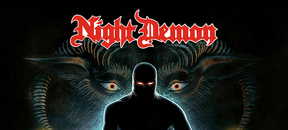 night demon cover final 1500px1 - Night Demon - Curse of the Damned (Album Review)
