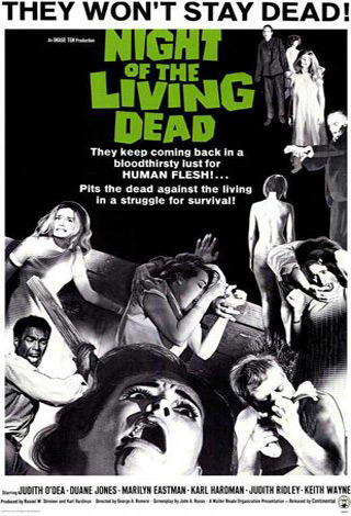 night of the living dead movie poster 1968 1020142678 - Interview - Christine Lakin