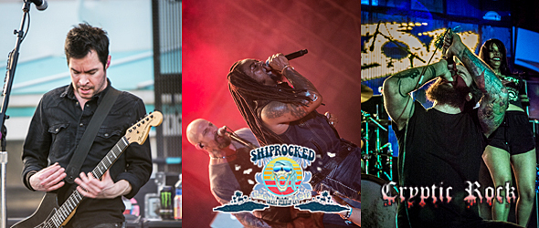 shiprocked day 1 edited - ShipRocked sets voyage in style 2-1-15 Miami, FL w/ Sevendust, Chevelle, & Wilson