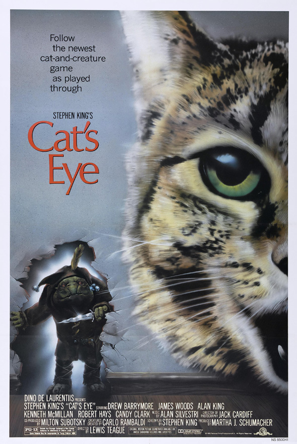 1287552823 - Stephen King's Cat's Eye 30 years later