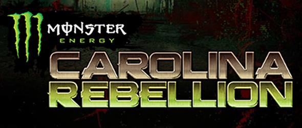 Carolina Rebellion Banner   with drop - Monster Energy Carolina Rebellion set for May 2nd-3rd