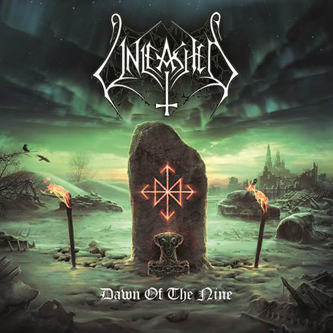 Unleashed Dawn of the Nine cover - Unleashed - Dawn of the Nine (Album review)