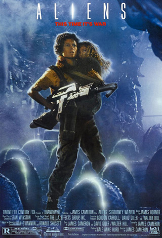 aliens poster - Interview - Terry Alexander of Day of the Dead