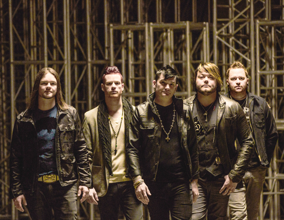 hinder promo - Hinder - When The Smoke Clears (Album Review)