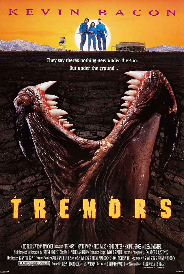 Tremors 1990 Movie Poster - Interview - Michael Gross