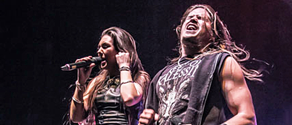 amaranthe slide - Amaranthe energize The Palladium Worcester, MA w/ I Prevail & Santa Cruz 5-15-15
