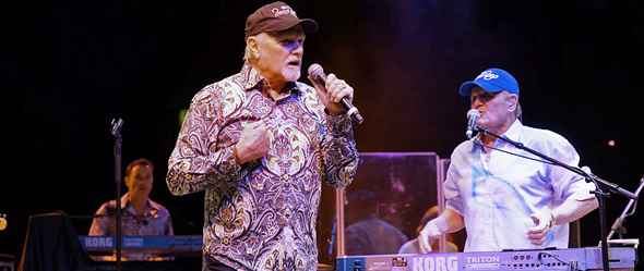 beach boys slide edited 2 - The Beach Boys cruise into NYCB Theatre at Westbury, NY 4-25-15 w/ America