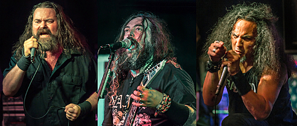 conspriacy slide - Cavalera Conspiracy, Death Angel, & Corrosion of Conformity Blind destroy Revolution Music Hall Amityville, NY 4-16-15