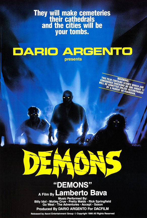 demons e1370558324420 - This Week in Horror Movie History - Demons (1986)