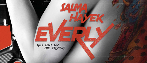 everly slide - Everly (Movie Review)