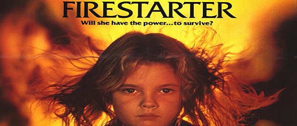 firestarter slide big - This Week in Horror Movie History - Firestarter (1984)