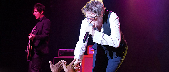 furs sldie - The Psychedelic Furs magical in return to The Paramount Huntington, NY 5-15-15