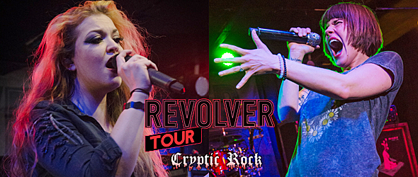 hottest chicks slide - Flyleaf & The Agonist lead female fueled rock to Charlotte, NC 4-21-15 w/ Fit For Rivals, Diamante, & Falling For Scarlet