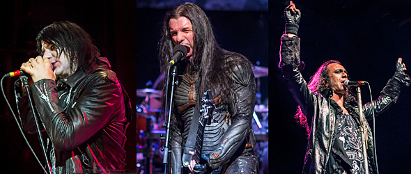 septicflesh slide - Septicflesh, Moonspell & Deathstars conquer NYC 5-17-15
