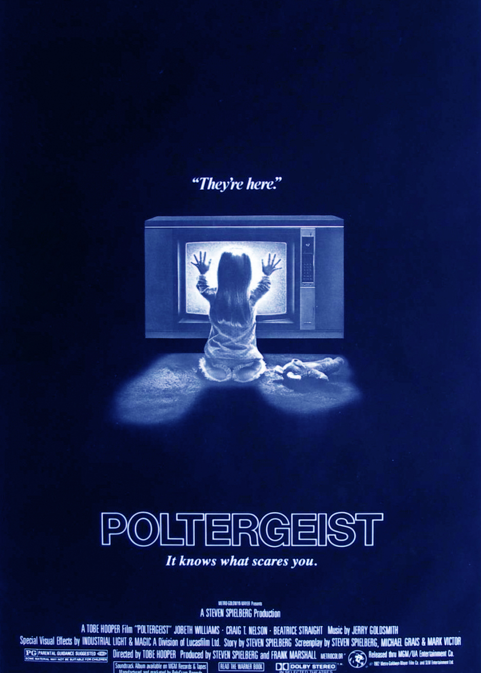 936full poltergeist poster - Favorite Horror Movies Revealed: Blake Allison of Devour the Day