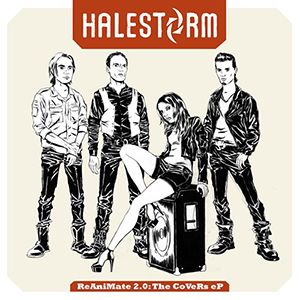 Halestorm Reanimate 2.0 - Halestorm's Lzzy Hale - Sexy That is More Than Skin Deep